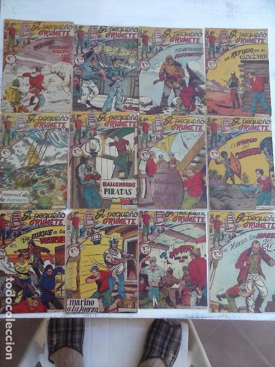 Tebeos: EL PEQUEÑO GRUMETE ORIGINAL 1958 FERMA - 30 TEBEOS , 1 AL 25, 27 ,30,32,33,34 VER PORTADAS - Foto 37 - 103973527