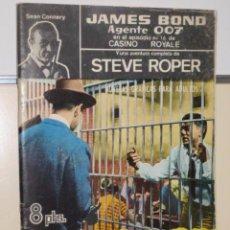 Tebeos: AGENTE 007 JAMES BOND - STEVE ROPER - SEAN CONNERY 33 - UN MINUTO ANTES DE SER LINCHADO- FERMA. Lote 106060783