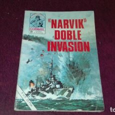 Tebeos: COMBATE Nº187 - NARVIK DOBLE INVASION. Lote 106939899