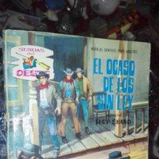 Tebeos: SENDAS DEL OESTE Nº 148 - EL OCASO DE LOS SIN LEY - NOVELA GRAFICA 1965. Lote 107201379