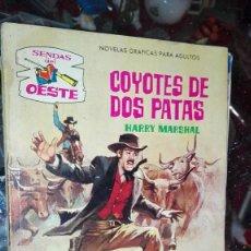 Tebeos: COYOTES DE DOS PATAS. Lote 107201451