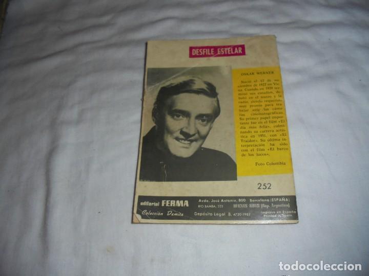 Tebeos: TU DESPRECIO POR MI.COLECCION DAMITA NOVELAS GRAFICAS.SERIE ENAMORADA 1962 - Foto 4 - 107332431