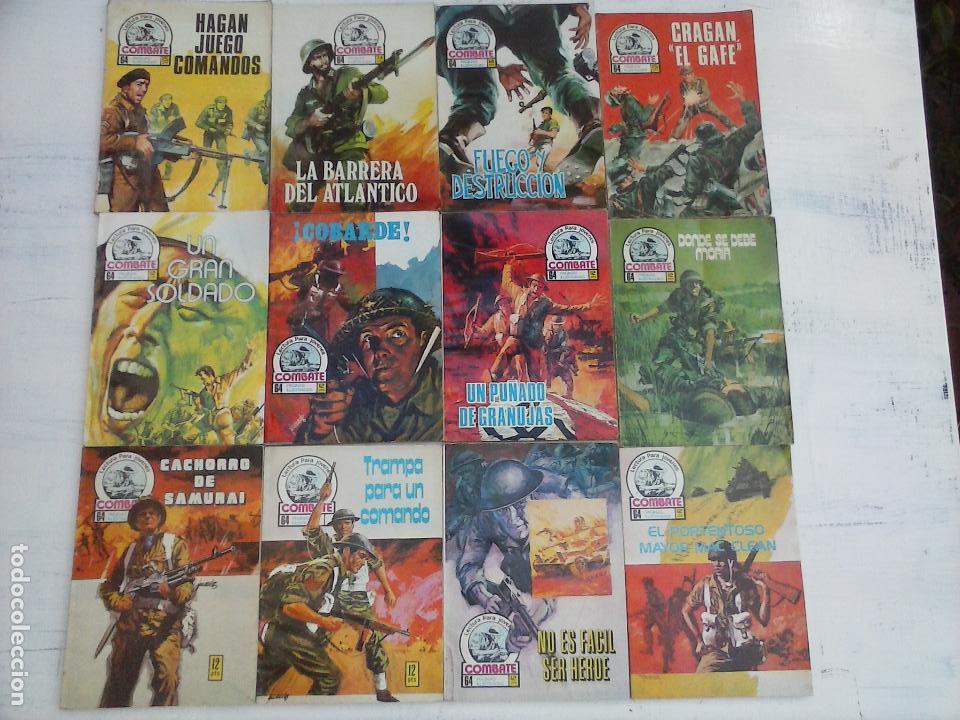 COMBATE LOTE NºS - 1,2,3,4,5,7,9,13,22,34,74,79 MUY BUEN ESTADO - 1975 (Tebeos y Comics - Ferma - Combate)