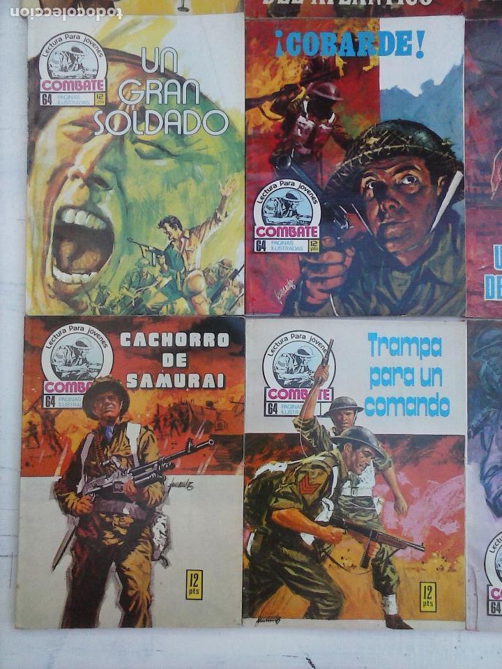 Tebeos: COMBATE LOTE NºS - 1,2,3,4,5,7,9,13,22,34,74,79 MUY BUEN ESTADO - 1975 - Foto 2 - 107377267