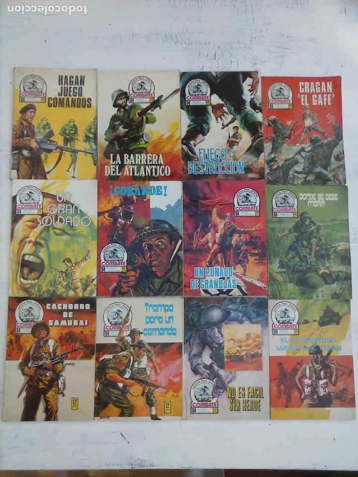 Tebeos: COMBATE LOTE NºS - 1,2,3,4,5,7,9,13,22,34,74,79 MUY BUEN ESTADO - 1975 - Foto 3 - 107377267