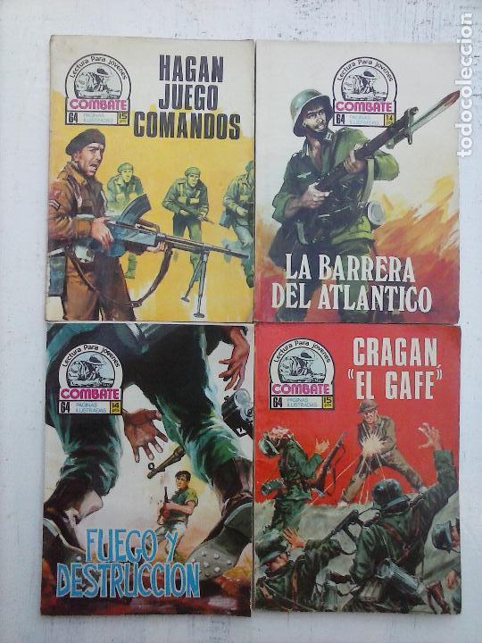 Tebeos: COMBATE LOTE NºS - 1,2,3,4,5,7,9,13,22,34,74,79 MUY BUEN ESTADO - 1975 - Foto 5 - 107377267