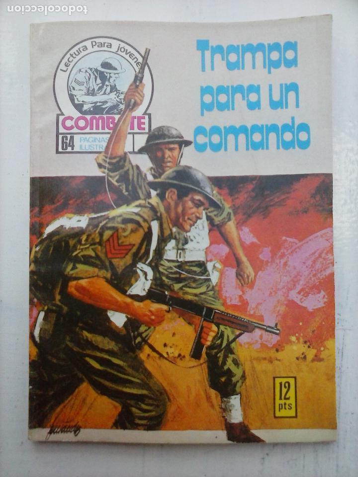 Tebeos: COMBATE LOTE NºS - 1,2,3,4,5,7,9,13,22,34,74,79 MUY BUEN ESTADO - 1975 - Foto 11 - 107377267