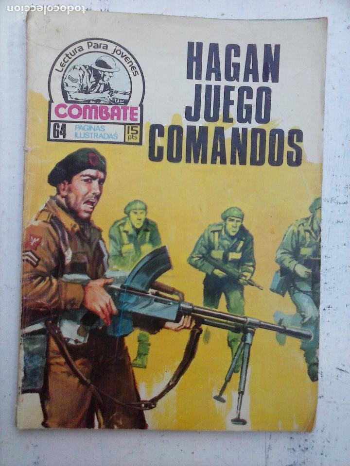 Tebeos: COMBATE LOTE NºS - 1,2,3,4,5,7,9,13,22,34,74,79 MUY BUEN ESTADO - 1975 - Foto 14 - 107377267