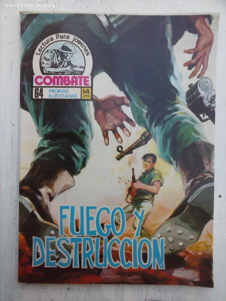 Tebeos: COMBATE LOTE NºS - 1,2,3,4,5,7,9,13,22,34,74,79 MUY BUEN ESTADO - 1975 - Foto 15 - 107377267