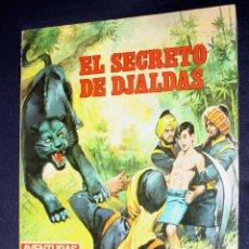 Tebeos: EL SECRETO DE DJALDAS: AVENTURAS ILUSTRADAS Nº 3. (BE). Lote 107398627