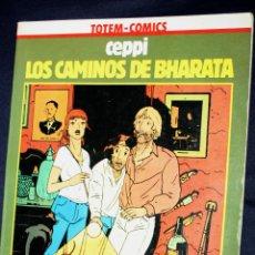 LOS CAMINOS DE BHARATA (Daniel Ceppi) COLECCION VERTIGO(TOTEM) Nº 8