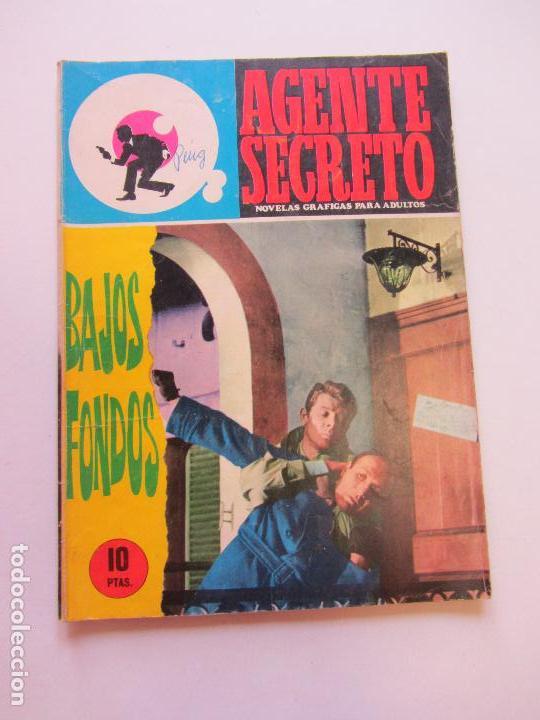 AGENTE SECRETO Nº 28 - BAJOS FONDOS - FERMA C84SADUR (Tebeos y Comics - Ferma - Agente Secreto)