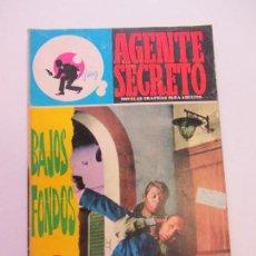 Tebeos: AGENTE SECRETO Nº 28 - BAJOS FONDOS - FERMA C84SADUR. Lote 108006155