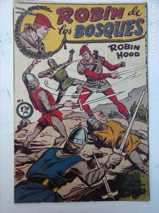 ROBIN DE LOS BOSQUES Nº 1 ORIGINAL - FERMA (Tebeos y Comics - Ferma - Otros)