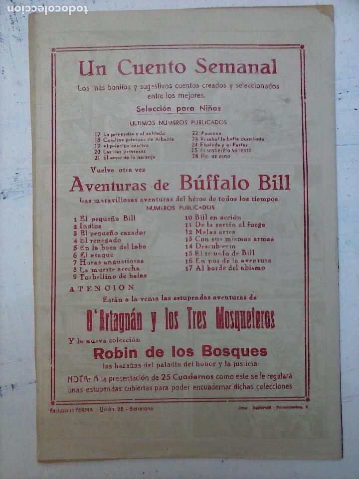 Tebeos: ROBIN DE LOS BOSQUES Nº 1 ORIGINAL - FERMA - Foto 2 - 108111539
