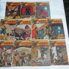Tebeos: EL ZORRO ORIGINALES EDI. FERMA 1956 - 3,4,5,7,8,12,15,16,18,20,21. Lote 108315403
