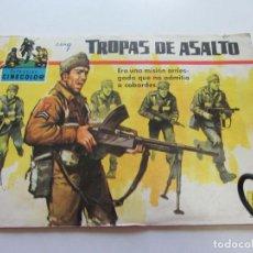 Tebeos: COLECCION CINECOLOR - Nº 44 TROPAS DE ASALTO FERMA DIFICIL C85SADUR. Lote 108332451