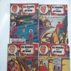 Tebeos: EL DUEÑO DEL ATOMO ORIGINALES NºS - 10,15,21,31. Lote 108358543
