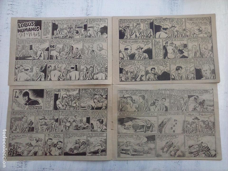 Tebeos: LA SOMBRA JUSTICIERA ORIGINALES NºS 18 Y 27 - EDI. FERMA 1954 - FERRANDO-MARTÍNEZ OSETE - Foto 2 - 108383059