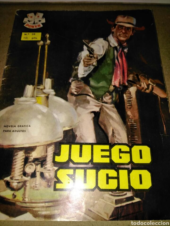 JUEGO SUCIO POKER N 39 (Tebeos y Comics - Ferma - Colosos de Oeste)