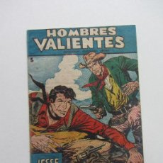 Tebeos: HOMBRES VALIENTES Nº 3 JESSE JAMES FERMA, ORIGINAL CSADUR86. Lote 109366571