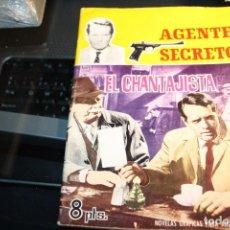 Tebeos: ANTIGUA NOVELA GRÁFICA DEL AGENTE SECRETO.. Lote 110058899