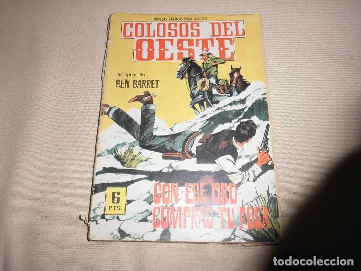 COLOSOS DEL OESTE Nº 80 EDITORIAL FERMA (Tebeos y Comics - Ferma - Colosos de Oeste)