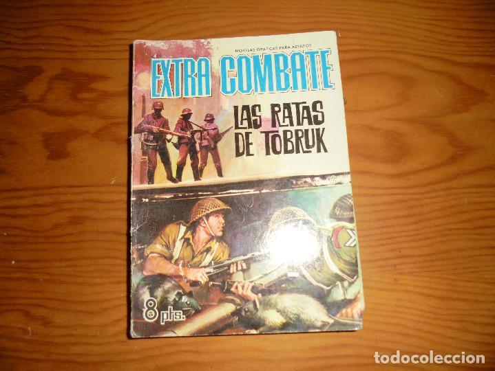 LAS RATAS DE TOBRUK. EXTRA COMBATE Nº 21, EDITORIAL FERMA 1965 (Tebeos y Comics - Ferma - Combate)
