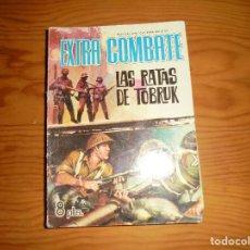 Tebeos: LAS RATAS DE TOBRUK. EXTRA COMBATE Nº 21, EDITORIAL FERMA 1965. Lote 111770591