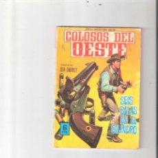 Tebeos: COLOSOS DEL OESTE Nº 85. Lote 112789339