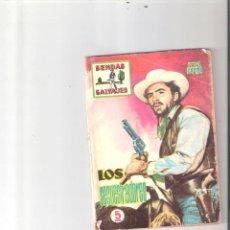 Tebeos: SENDAS SALVAJES Nº11. Lote 112794579