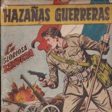 Tebeos: HAZAÑAS GUERRERAS Nº5 LA GLORIOSA BANDERA. Lote 112899151