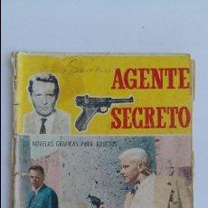 Tebeos: AGENTE SECRETO. LOS TRAIDORES SIEMPRE PAGAN. FERMA 1966. Lote 113059259