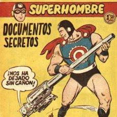 Tebeos: SUPERHOMBRE-46, DE GIRAL Y LLARCH (FERMA, 1957). Lote 113461935