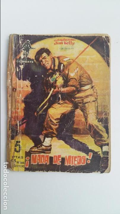 NADA DE MIEDO. ADAPTACION JIM KELLY. 1962 (Tebeos y Comics - Ferma - Combate)