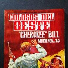 Tebeos: ORIGINAL COLOSOS DEL OESTE Nº 23 EDITORIAL FERMA. Lote 113794671