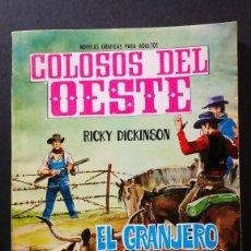 Tebeos: ORIGINAL COLOSOS DEL OESTE Nº 78 EDITORIAL FERMA. Lote 113797055