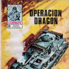 Tebeos: COMBATE-NOVELA GRÁFICA SEMANAL- Nº 232 -OPERACIÓN DRAGÓN-1980-MUY DIFÍCIL- BUENO-LEAN-2204. Lote 180208856