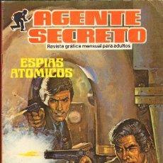 Tebeos: AGENTE SECRETO- Nº 5 -´ESPÍAS ATÓMICOS`-1982 -MUY BUENO-JULIO MONTAÑÉS-DIFÍCIL-LEAN-8163. Lote 114841823