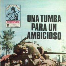 Tebeos: COMBATE-NOVELA GRÁFICA- Nº 194 -UNA TUMBA PARA UN AMBICIOSO-1980-GRAN R. GIOVANINNI-BUEN ESTADO-8176. Lote 114946855