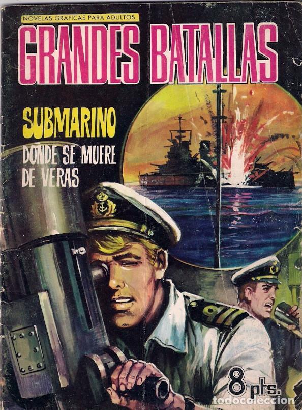 GRANDES BATALLAS. Nº 80 (Tebeos y Comics - Ferma - Otros)