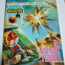 Tebeos: MEGATON Nº 16 - FERMA 1966 ORIGINAL EN BUEN ESTADO. Lote 115746099