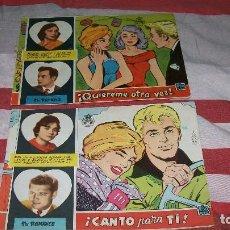 Tebeos: DOS COMICS COLECCION CAROLINA DE EXCLUSIVAS FERMA 1959-- TU ROMANCE. Lote 116116263