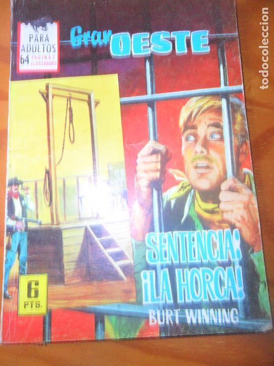 SENTENCIA: LA HORCA! - BURT WINNING- COLECCION GRAN OESTE Nº 324 - ED. FERMA (Tebeos y Comics - Ferma - Gran Oeste)