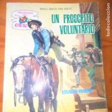 Tebeos: UN PROSCRITO VOLUNTARIO - COLECCION SENDAS DEL OESTE Nº 119 - ED. FERMA . Lote 118359499