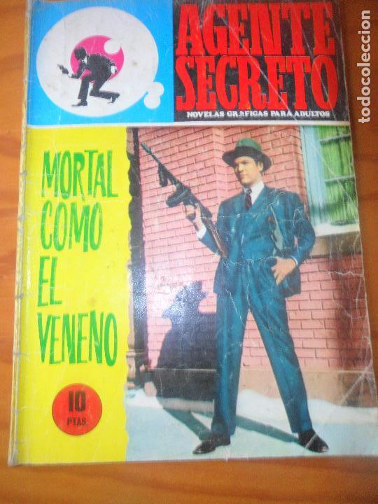 MORTAL COMO EL VENENO - COLECCION AGENTE SECRETO Nº 36 - ED. FERMA (Tebeos y Comics - Ferma - Agente Secreto)
