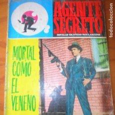 Tebeos: MORTAL COMO EL VENENO - COLECCION AGENTE SECRETO Nº 36 - ED. FERMA. Lote 118360079