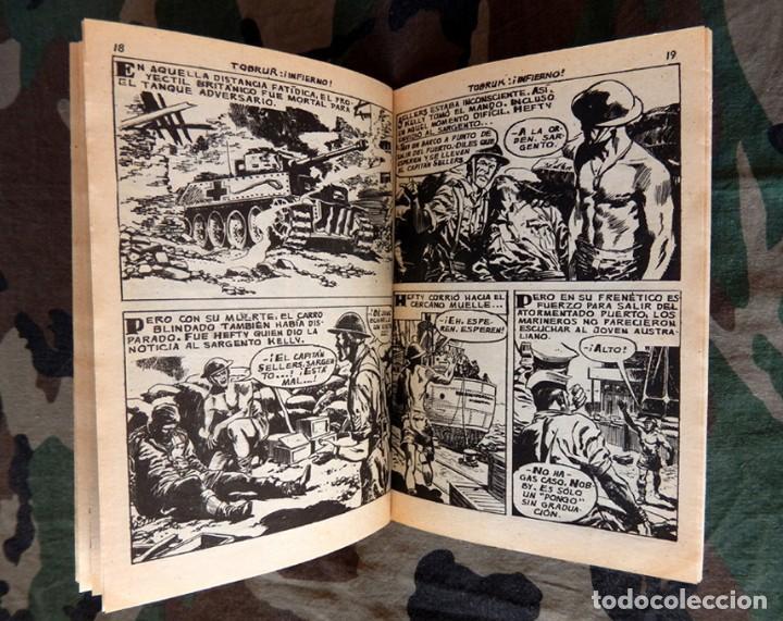 Tebeos: COMBATE Nº 29 Y COMBATE EXTRA Nº 10, ORIGINALES, 1962, EDITORIAL FERMA - Foto 4 - 118835079