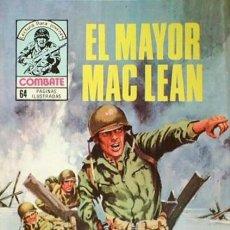 Tebeos: COMBATE- NOVELA GRÁFICA SEMANAL- Nº 214 -EL MAYOR MAC LEAN-APASIONANTE-BUENO-1980-LEAN-8556. Lote 119001307
