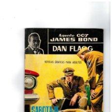 Tebeos: AGENTE 007 JAMES BOND-DAN FLAGG Nº 3. FERMA 1965. -MUY BUENO-. Lote 119121095
